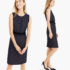 "J. Crew ""Sparkle Tweed Dress"""